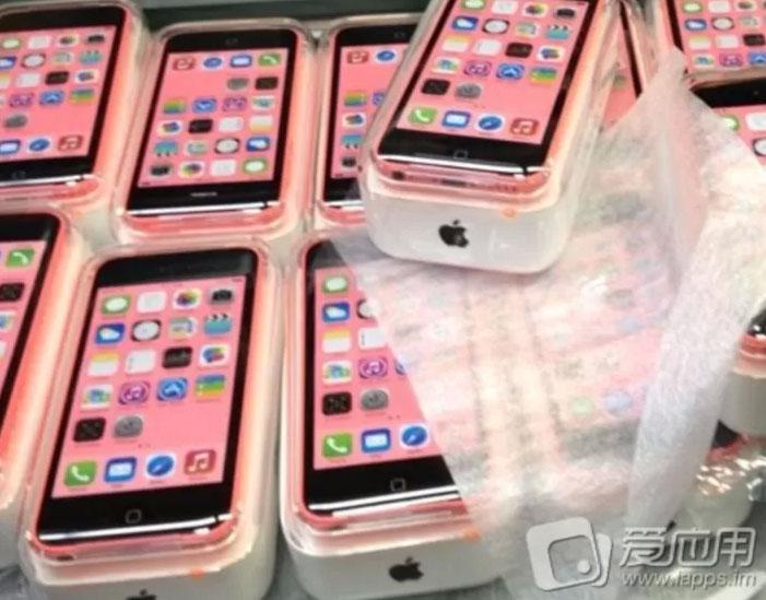 Apple iPhone 5C: Anleitung und Bilder der Verpackung gesichtet