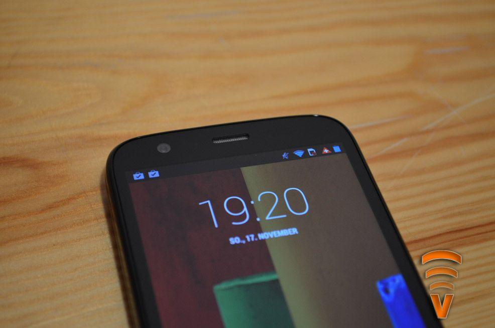 Screenshot eines neuen, noch unvorgestellten, Motorola-Smartphones mit Full-HD-Display gesichtet