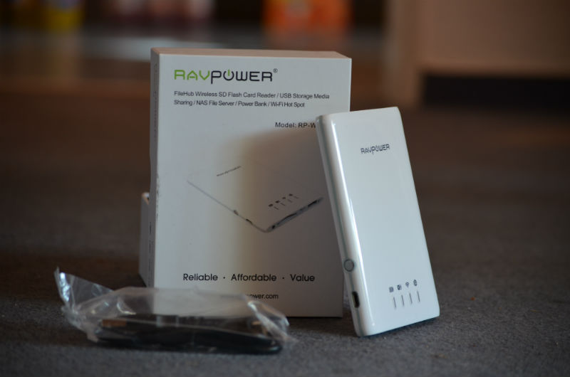 Ravpower 5-1 filehub test 4