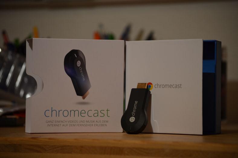 Google Chromecast gekauft, angesehen und ausgepackt