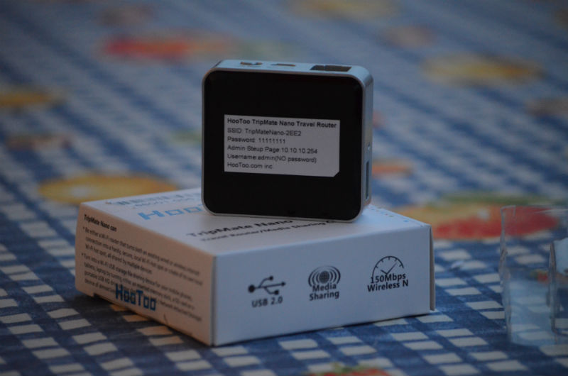 hootoo tripmate nano der reise router f r 13 99 euro mit potential v i t t. Black Bedroom Furniture Sets. Home Design Ideas