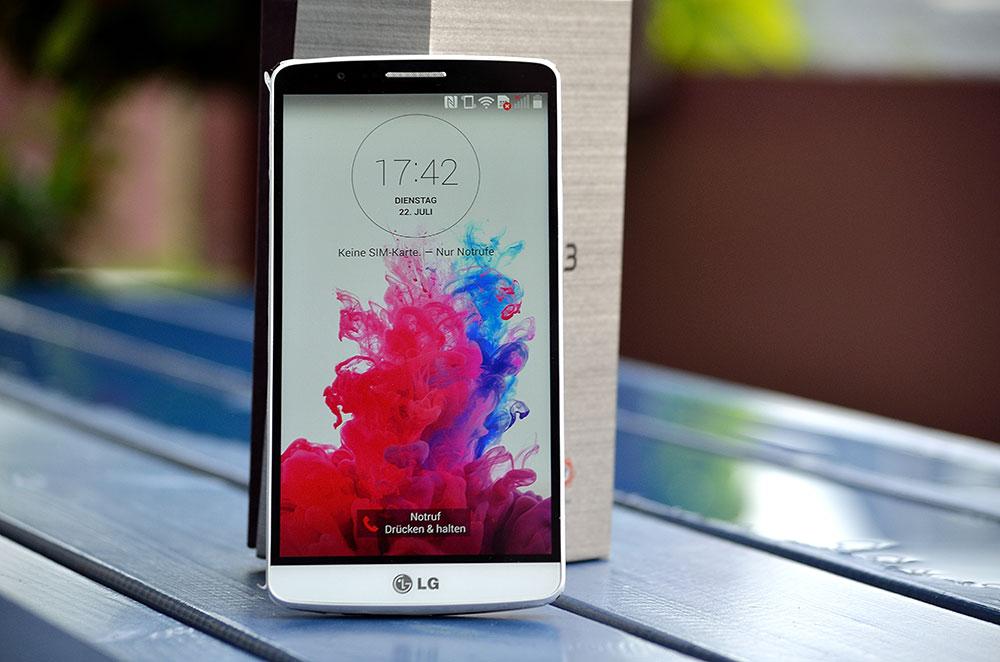 LG G3 im Test – Was leistet das QHD-Display und der Laser-Autofokus wirklich?