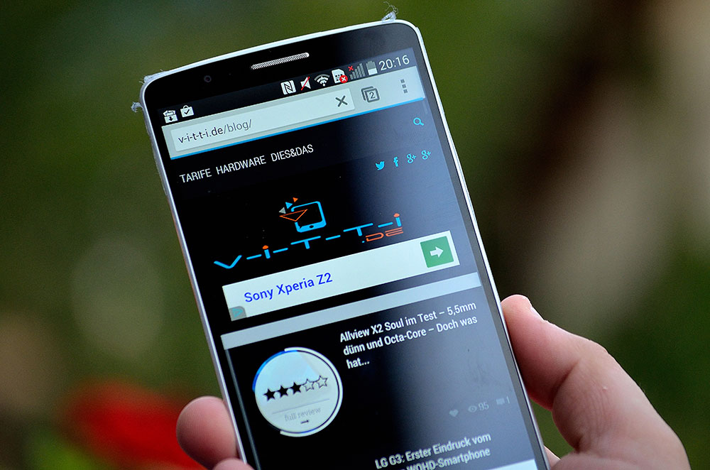 LG G3 bekommt jetzt das Android 5.0 Lollipop Update