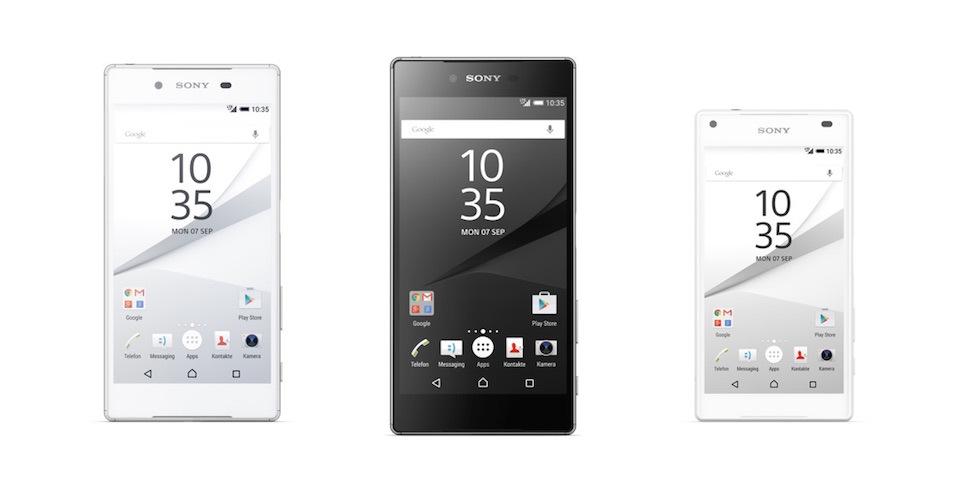 Sony Xperia Z5, Z5 Compact und Z5 Premium offiziell vorgestellt