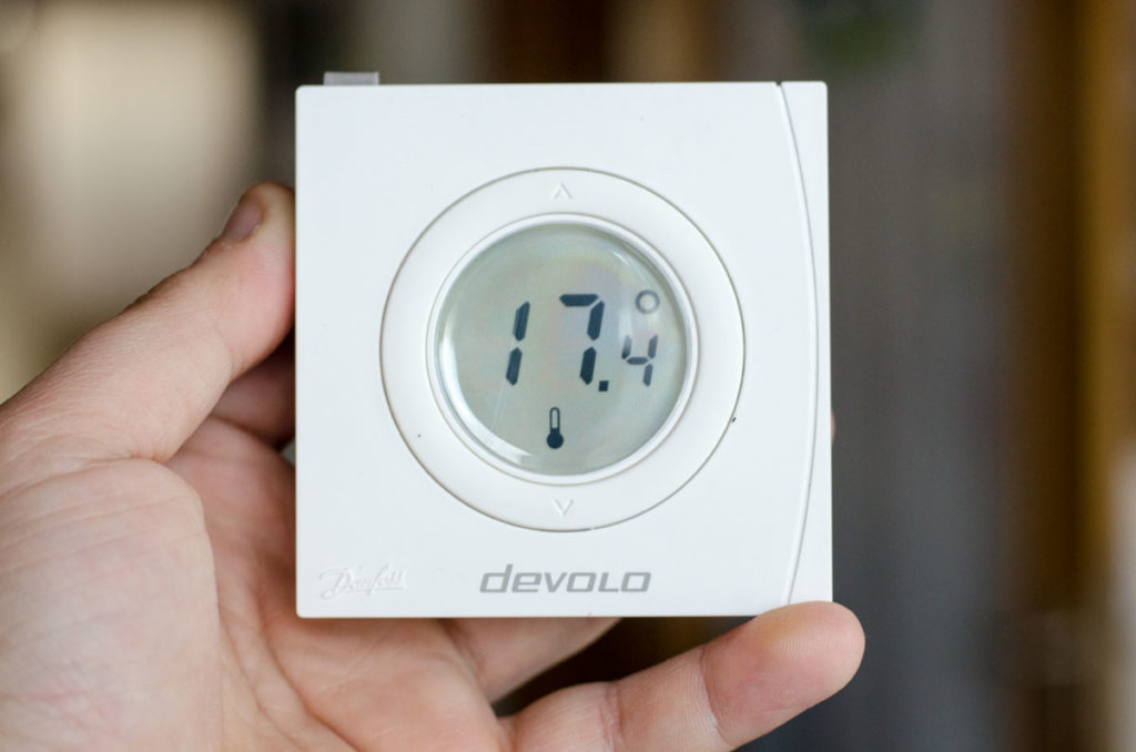 Devolo Home Control Smart Home Raumthermostat