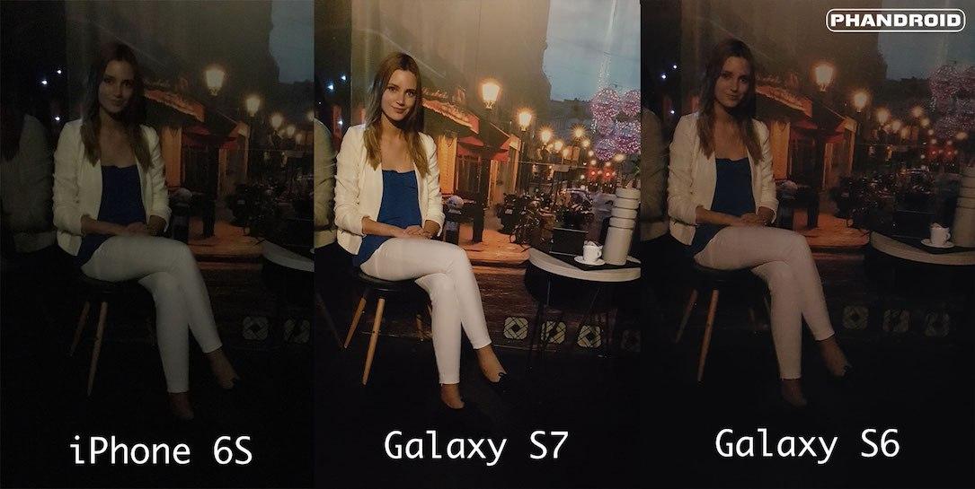 Samsung Galaxy S7: Erster Low-Light Kamera Vergleich kann sich sehen lassen