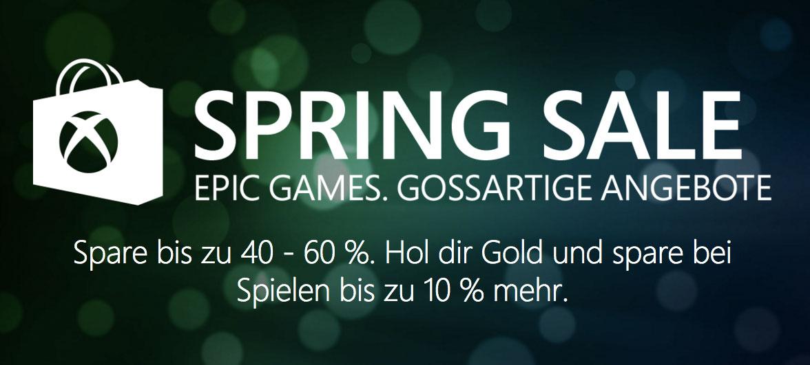 Xbox One und Xbox 360: Der Spring Sale ist da