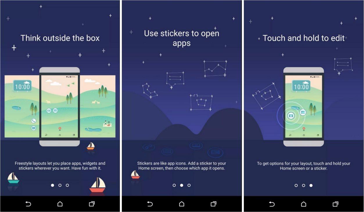 """HTC One M10: Sense 8.0 zeigt sich auf Screenshots mit """"Freestyle Layout"""""""