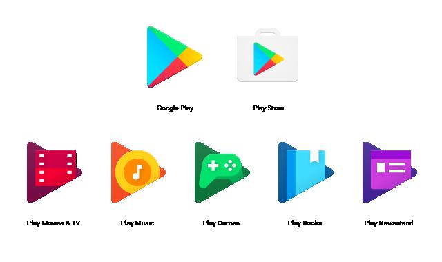 Google Play Apps bekommen neue Symbole