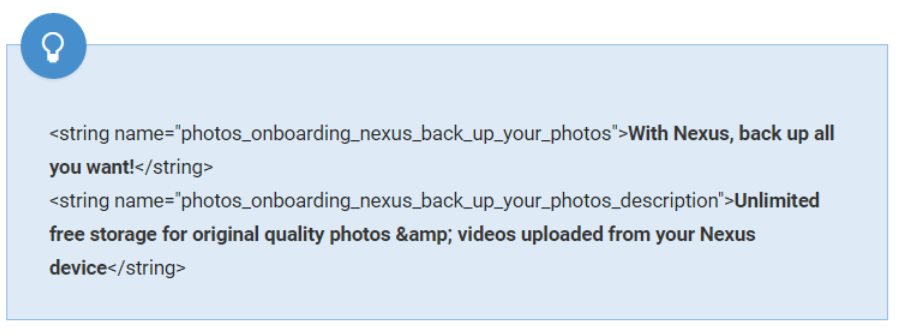 photos-nexus google foto