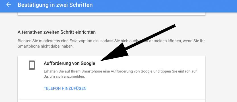 google-2fa-einrichten