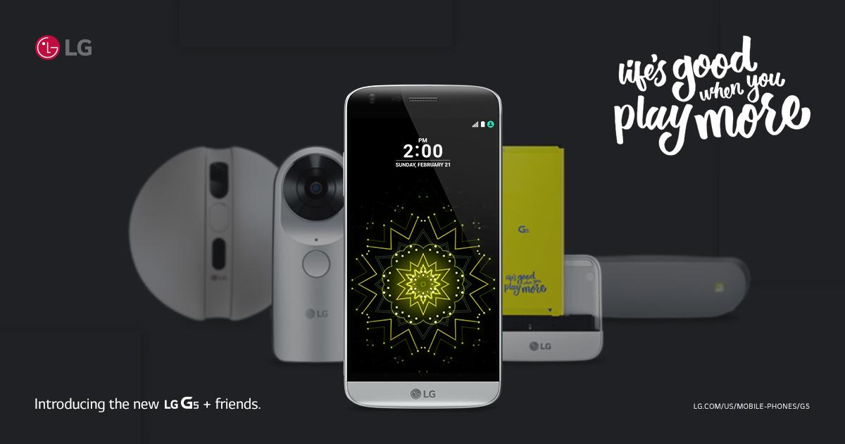 LG G5 für 400 Euro erhältlich – dank 100 Euro Rabatt