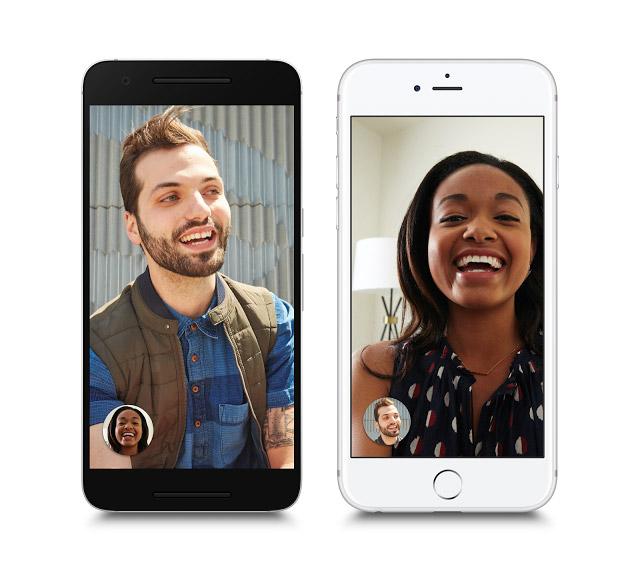 Google Duo: Videotelefonie wie FaceTime für Android und IOS