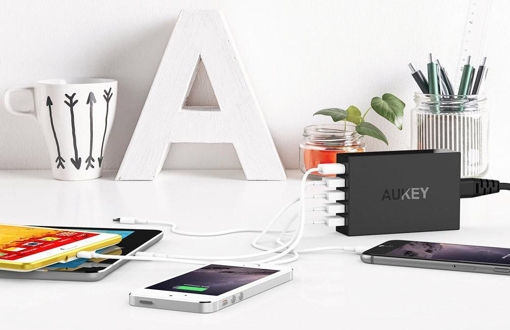 Aukey Amazon Rabattaktion: Spare mit Rabattcodes (Gutscheinen) bis zu 10 Euro pro Produkt!