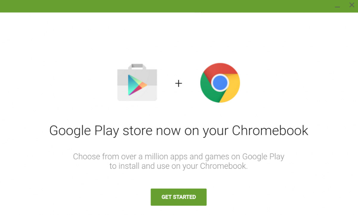 Chromebook: Android Apps sowie Play Store installieren