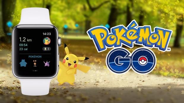 Pokemon Go kann man auf der Apple Watch spielen – teilweise