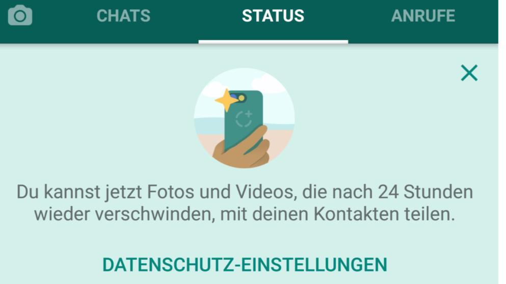 Whatsapp wer sieht status angesehen hat man WhatsApp sehen