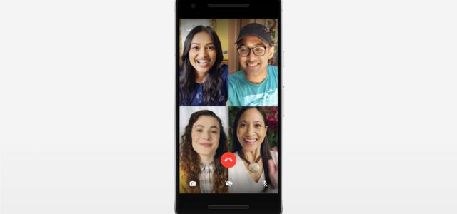 WhatsApp führt Gruppen-Sprachanrufe und Gruppen-Videoanrufe ein