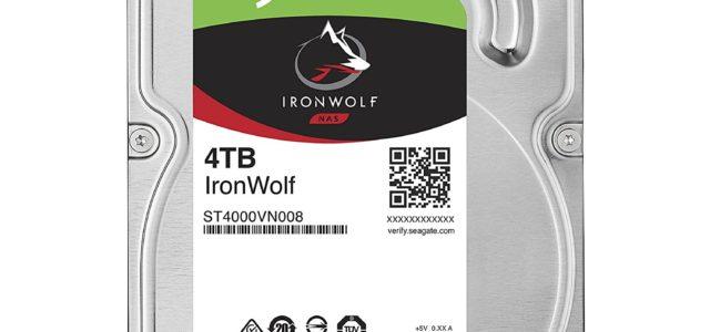 Seagate IronWolf mit 4 TB für nur 99 Euro, 6 Monate Xbox Live Gold für ca 18 Euro